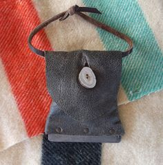 Mountain Man Tinder Pouch A Primitive Self Contained by misstudy, $48.00