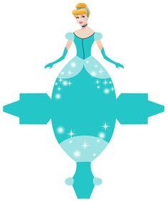 Cinderella - Free Printable Disney Princess Box