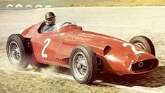 race car, fangio, classic car, seasons, 1950s race