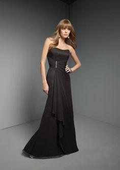 black weddign dress