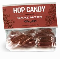 Beer candy? Yep, we did it. Made with real hops and real sugar. $5