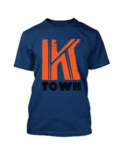 This t-shirt is printed on a vintage blue, tri-blend and available in sizes S-XXL. $27.95  Nothing Too Fancy!
