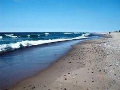 Lake Superior Agate Beach. Living in an RV