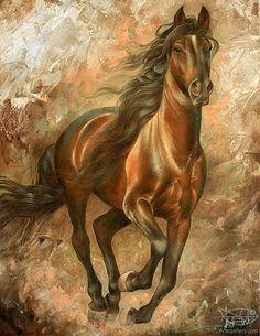Realismo Pintura de Animales