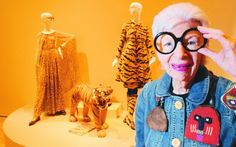"""Price there's nothing to do with style""  Iris Apfel"
