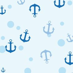 The Honest Company #Anchors Pattern is the perfect inspiration for a #nautical nursery wallpaper! #pinparty