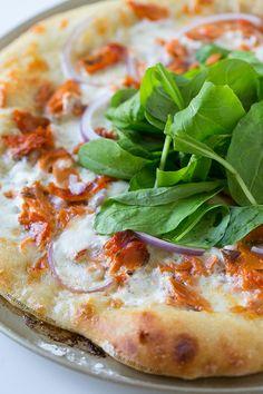 Smoked Salmon and Burrata Pizza