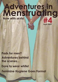 Adventures in menstruating magazine