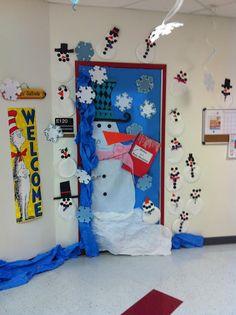 great door for christmas