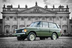 #001... the first Range Rover