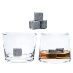 perfect for whiskey. ice cubes that don't melt