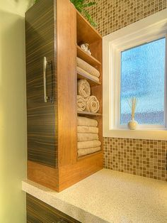 Spa-Like Towel Storage