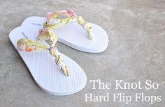 Now I know what to do when my flip flop breaks.
