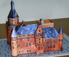 Duurstede Medieval Castle Paper Model In Netherlands - by Kastelen