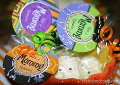 how to make mummy cookies and free printable tags for packaging!
