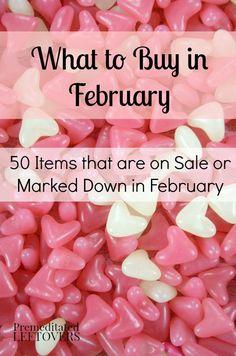 What to Buy in Febru