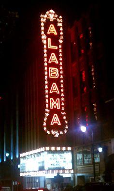 Alabama Theater, Birmingham, Alabama.