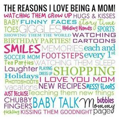 <3 being a mommy