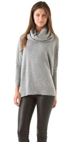 Stylmee - DKNY Cowl Neck Pullover $235  #fashiongame #fashion
