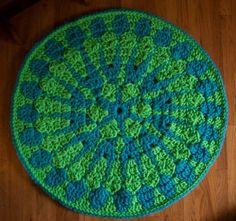 Shocking Mandala Rug 300x282 7 Best Crochet Blogs