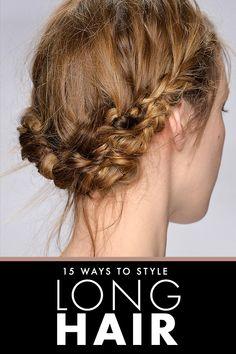 hair ideas for long hair long hair dos, hair idea