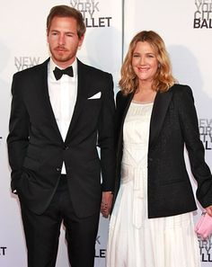 Drew Barrymore and Will Kopelman. The actress and the art dealer vowed to spend eternity together at Barrymore's home in Montecito, Calif. June 2 2012. Drew Barrymore -- who was pregnant at the time -- wore a Chanel dress.