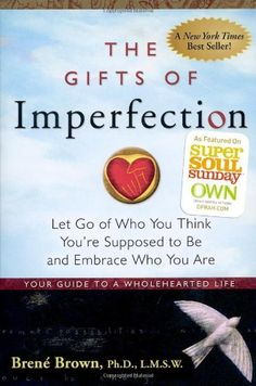 The Gifts of Imperfection: Let Go of Who You Think You're Supposed to Be and Embrace Who You Are by Brene Brown http://www.amazon.com/dp/159285849X/ref=cm_sw_r_pi_dp_z.Flub14RTJ26