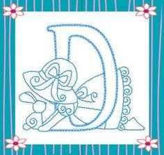 Sunbonnet Alphabet letra, alfabeto, kiwi, sunbonnet sue, bordado, alphabet, abecedario, embroidery, embroideri