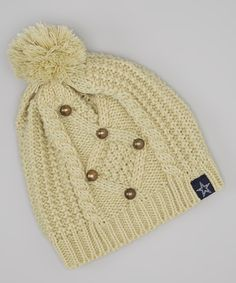 Tan Dallas Cowboys Knit Cap