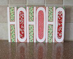 Ho Ho Ho Sign $24.99 #xmas #christmas #hohoho
