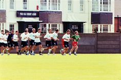Pre-season training at Melwood (1999)
