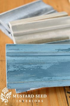 3 different chalk paint techniques for the distress look