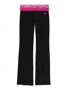 Bling Bootcut Yoga Pant - Victoria's Secret PINK - Victoria's Secret yoga pant, victoria secret