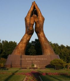 Ever thought the Praying Hands were actually Oral Robert's hands #OruMyths