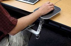 EG- ergo-arm: An adjustable ergonomic support system for elbows, forearms, and wrists in computer users.