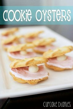 Cookie Oysters #cookieoysters #cookie