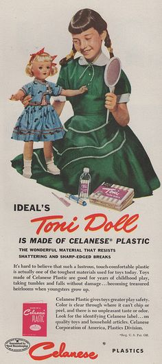 Ideal's Toni Doll - now your doll can get a perm too.