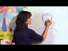 how to draw a princess