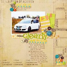Go Beyond the Photo. Scrapbook page. Journaling.