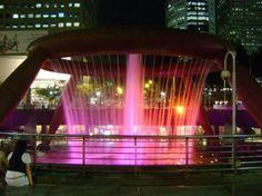 シンガポールの「富の噴水」