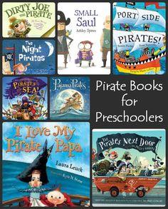 10 fun pirate books for preschoolers!