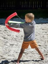 Quick and easy Foam Bow and Arrow
