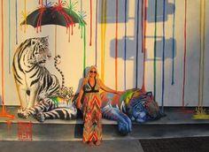 """""""Catnap"""" Mural!"""