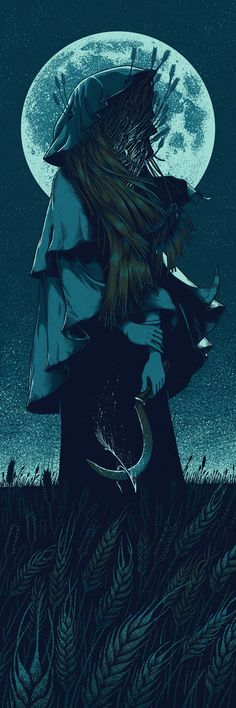 The Farmer's Daughter by Brian Luong, via Behance