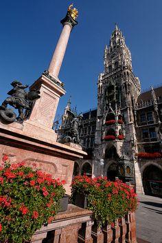 Marienplatz  Munich, Germany.