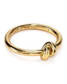 Bloomingdales   kate spade new york Sailor's Knot Ring bloomingdales #katespade #ring