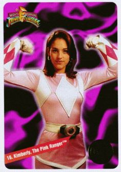 I was all about the Pink Ranger...