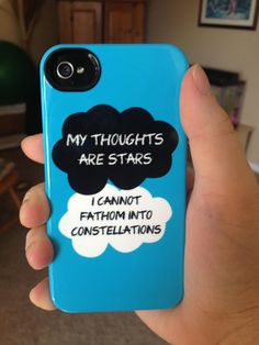 The Fault in Our Stars phone case...I WANT!