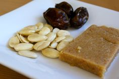 Almond Date Energy Bar