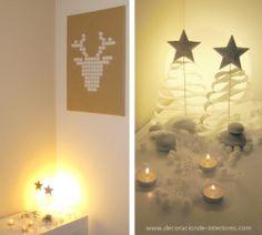 Navidad nórdica Eco & Low-cost | Decoración de Interiores